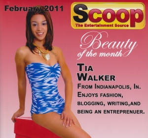 Scoop Beauty of the Month, February 2011.
