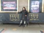 Tia Walker at Radio City in New York, NY.